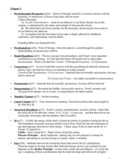 psychology-46-355-psychodynamic-notes
