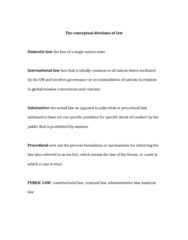crim-135-the-conceptual-divisions-of-law-docx