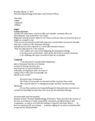 feminist-ethics-epistemology-emotion-jagger-campbell-gilligan-docx