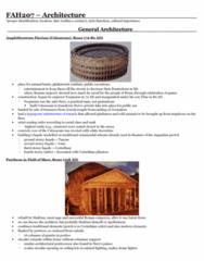 exam-notes-roman-architecture