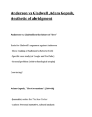 anderson-vs-gladwell-adam-gopnik-aesthetic-of-abridgment-docx