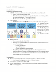 lecture-31-transplantation-docx