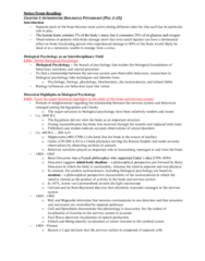 chapter-1-textbook-notes-introducing-biological-psychology