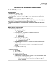 psychology-201w-good-and-bad-experiments-tuesday-2nd-july-2013-docx