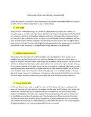 alternaitves-for-an-efficient-household-docx