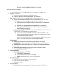2-context-for-cities-and-sustainability-2-review-docx