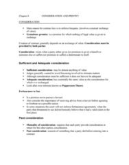 chapter-8-consideration-and-privity-doc