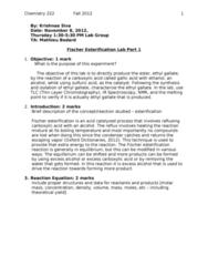 222-esterification1-report-1-doc