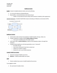 healthcare-system-lecture-2-docx