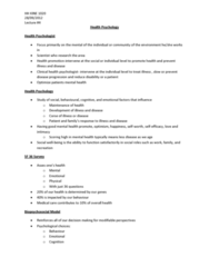 health-psychology-lecture-4-docx