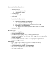 learning-disabilities-exam-review-docx