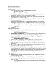 development-exam