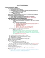 2nd-classics-exam-study-guide