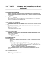 lecture-2-how-do-anthropologists-study-culture-docx
