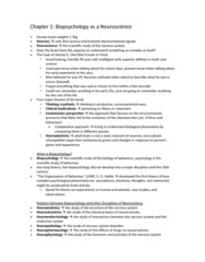 psychology-46-256-chapter-1-notes-on-biopsychology-as-a-neuroscience