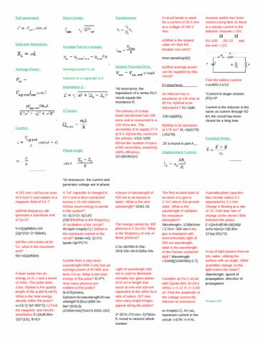 phys-241-final-exam-crib-sheet