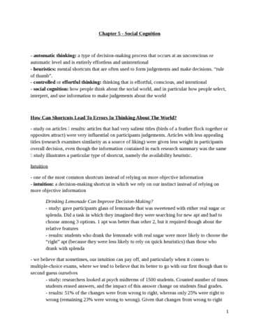 social-psyc-notes-chapter-5-docx
