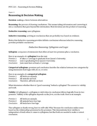 psyc-221-ch13-reasoning-decision-making-pdf