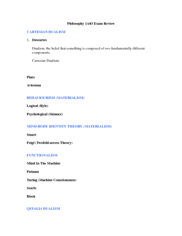 philosophy-1a03-exam-review-docx