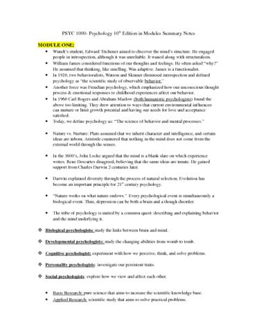 psyc-1000-module-summaries-docx