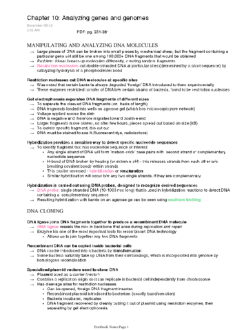 biochem-2280-chapter-10-analyzing-genes-and-genomes-pdf
