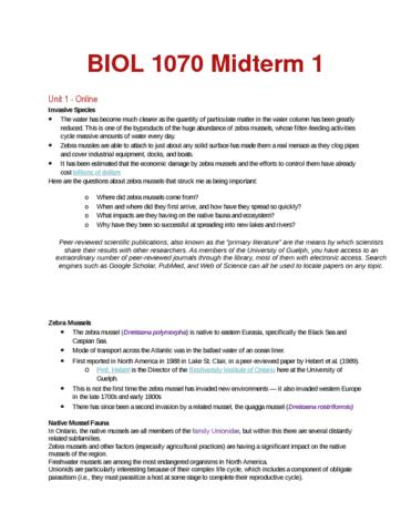 biol-1070-midterm-1-notes