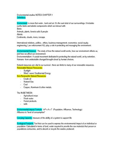 environmental-studies-mid-term-exam-notes