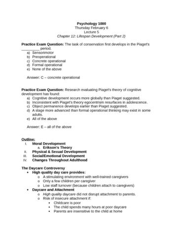 psychology-1000-february-6-docx