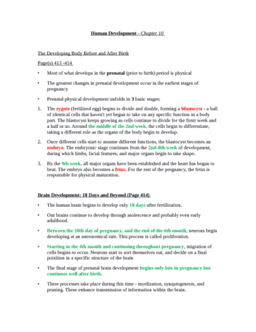 psychology-chapter-10-textbook-notes-docx