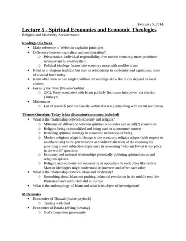 lecture-5-spiritual-economies-and-economic-theologies-february-5-docx