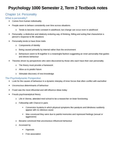 psychology-1000-semester-2-exam-notes-docx