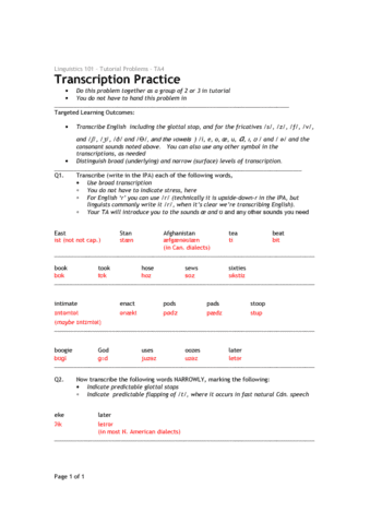 tutorial-4-transcription-practice-solutions-pdf