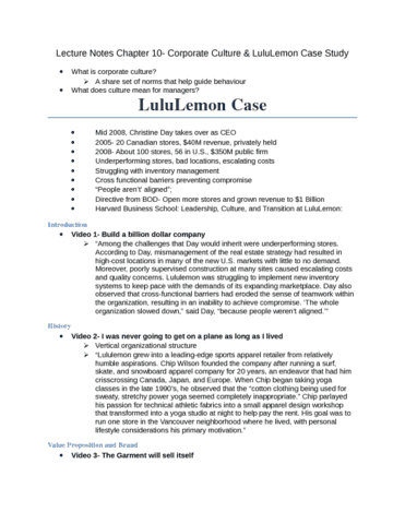 mgm102-lecture-chapter-10-corporate-culture-lululemon-case-study-docx