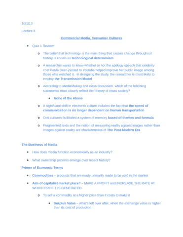 complete-survey-of-mass-communication-notes-part-8-got-a-90-in-the-course-