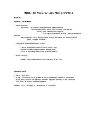 biol-1001-midterm-1-alex-mills-doc