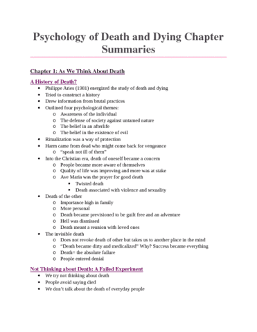 psychology-of-death-and-dying-psyc-3570-de-chapter-summaries