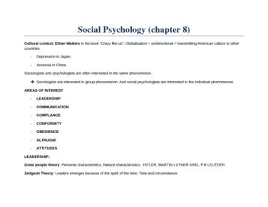 social-psycholoy