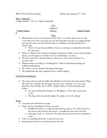 lecture-two-social-network-analysis-docx