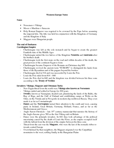 western-europe-notes-docx