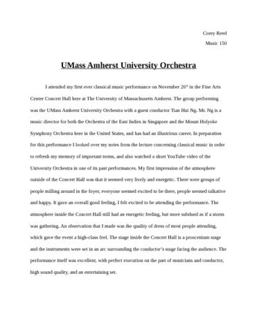 umass-orchestra-report