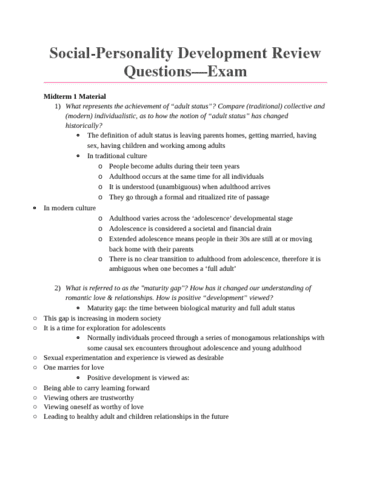 social-personality-and-development-psyc-3450-review-questions-for-exam