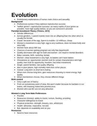 evolution-women-s-lt-preferences-docx