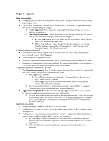 sociology-2233-chapter-11-textbook-notes