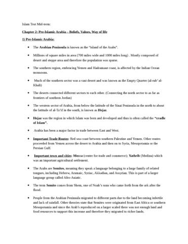 islam-denny-notes-midterm-rlg204-docx