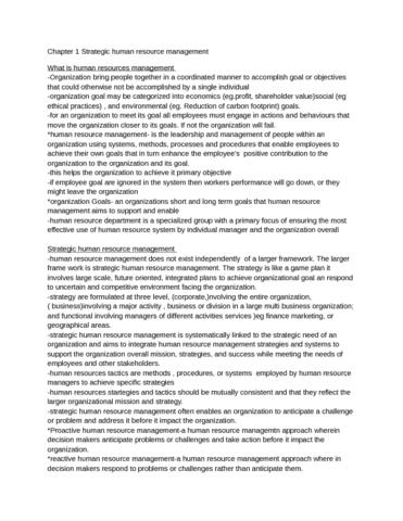 chapter-1-strategic-human-resource-management-docx