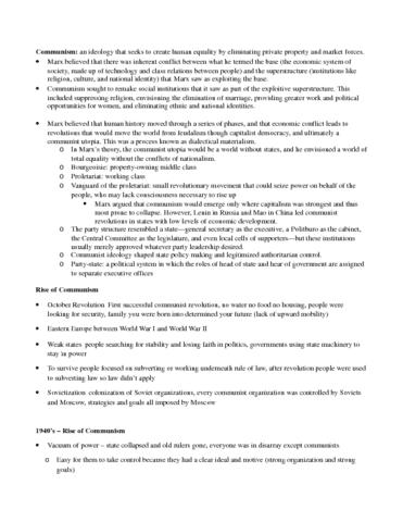 communism-and-post-communism-exam-review