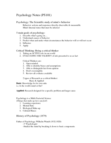 ps101-exam-1-notes-dunne-