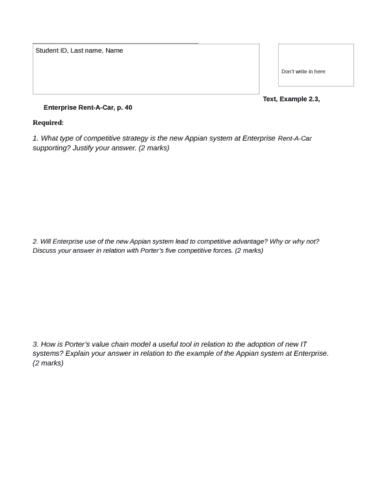 practice-question-1-form-enterprise-rent-a-car-docx
