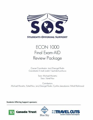 york-sos-econ-1000-study-package-final-exam-pdf