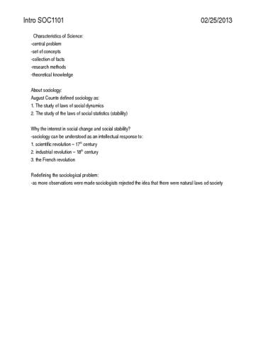 sociology-1101-notes